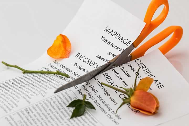divorce filing in Arkansas